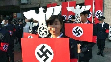 27-12-2016 17:07 Świąteczna parada ze swastyką. Jak uczniowie na Tajwanie znają historię