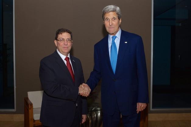 USA-Kuba: historyczne spotkanie szefów dyplomacji