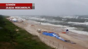 Ulewy, wichury, sztormy. Ostrzeżenia dla północnej i zachodniej Polski