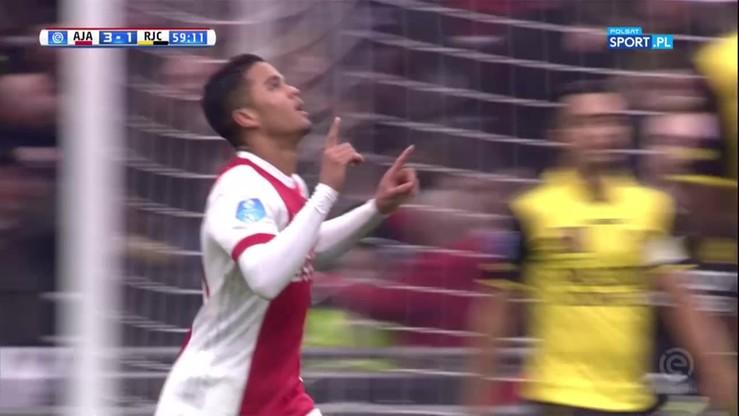 Pierwszy hat-trick Justina Kluiverta w lidze holenderskiej