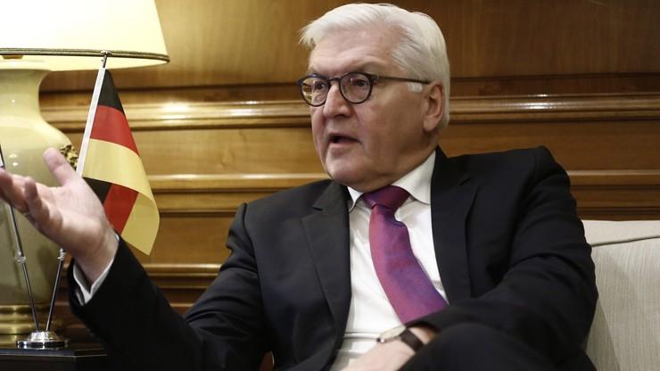 Steinmeier apeluje do Ławrowa o konstruktywne współdziałanie
