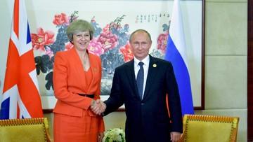 """Premier Wielkiej Brytanii za """"szczerym i otwartym"""" dialogiem z Rosją"""