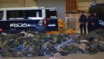 03-03-2016 20:32 Hiszpania: policja przejęła 20 tys. mundurów dla dżihadystów