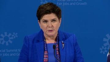 Premier: potępiamy ekstremizmy, ale nie zgodzimy się na szkalowanie polskich obywateli
