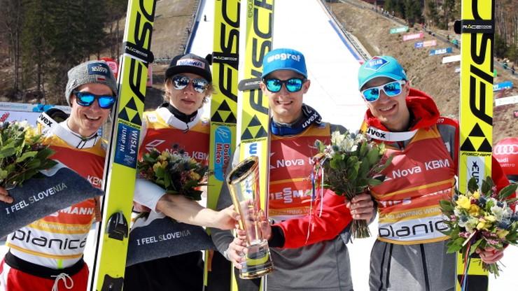 Puchar Świata: Polska na podium w Planicy! Rekordowy skok Stocha!