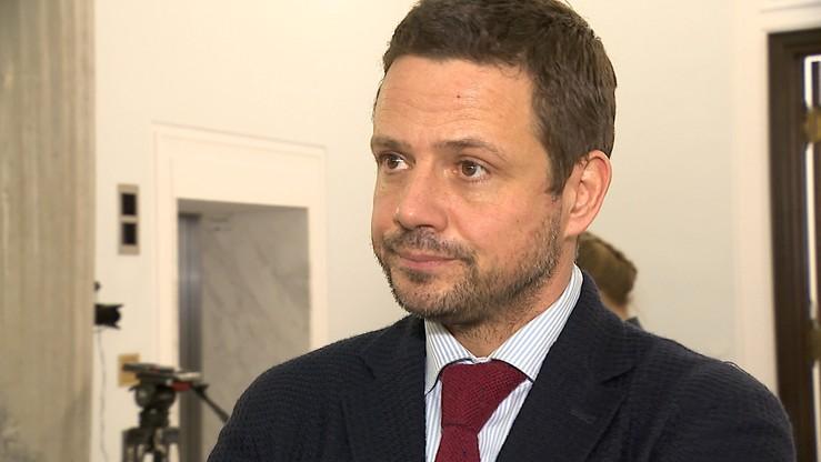 Trzaskowski może zastąpić Saryusz-Wolskiego na stanowisku wiceszefa EPP