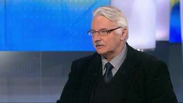 Waszczykowski: PiS będzie zmieniać Polskę nawet bez większości konstytucyjnej