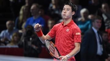 2016-11-14 ATP World Tour Finals: Nishikori pokonał Wawrinkę w dwóch setach