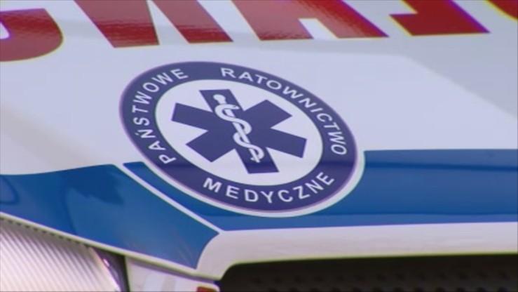Wypadek małego samolotu na Mazowszu. Na pokładzie były dwie osoby