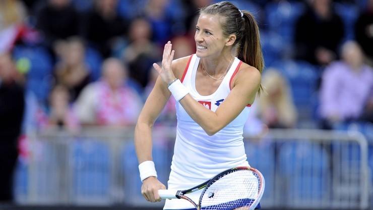 WTA w Moskwie: Rosolska odpadła w pierwszej rundzie debla