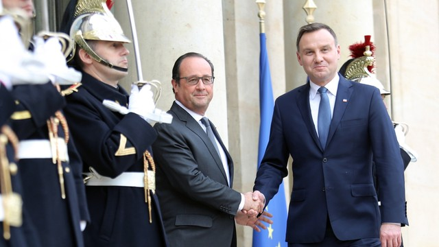 Prezydent Duda z wizytą we Francji