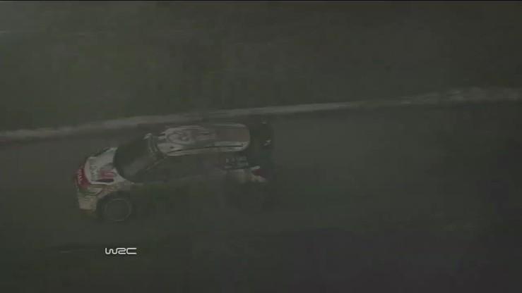 WRC: Loeb bez sprawnego koła kończy OS