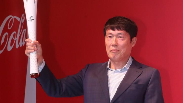 Pjongczang 2018: Legendarny koreański piłkarz w sztafecie olimpijskiej