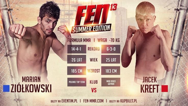 FEN 13: Łamator vs Golden Boy na gali Summer Edition!