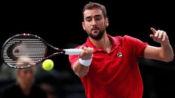 2016-11-03 ATP World Tour Finals: Cilic jako siódmy zapewnił sobie grę w Londynie