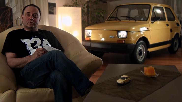 """Nie mówcie nikomu, że trzymam """"malucha"""" w pokoju. Nieużywany Fiat 126p idzie na sprzedaż"""