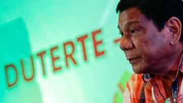 """10-05-2016 05:47 """"Filipiński Donald Trump"""" zwycięzcą wyborów prezydenckich"""