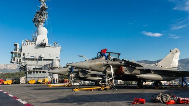 Francuskie myśliwce zaatakowały cele w Iraku