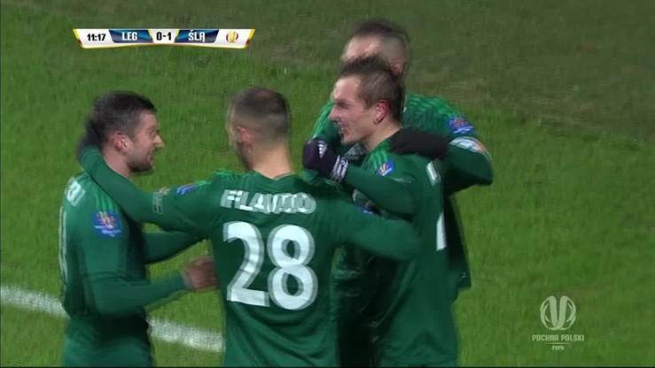 Legia - Śląsk 0:1 - Peter Grajciar