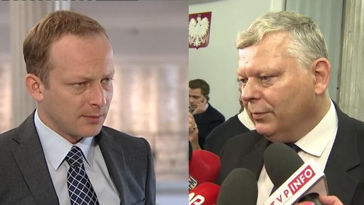 Przepychanka Suski-Olszewski w Sejmie. Prokuratura wszczęła śledztwo