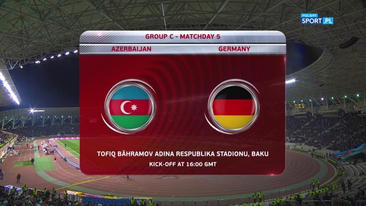 Azerbejdżan - Niemcy 1:4. Skrót meczu