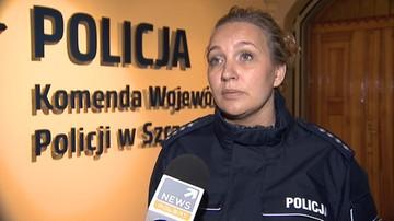 Atak nożem na policjantkę w Szczecinku