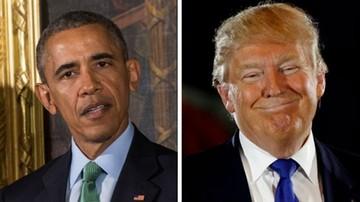 09-11-2016 13:35 Obama zaprosił Trumpa do Białego Domu. Spotkanie już w czwartek