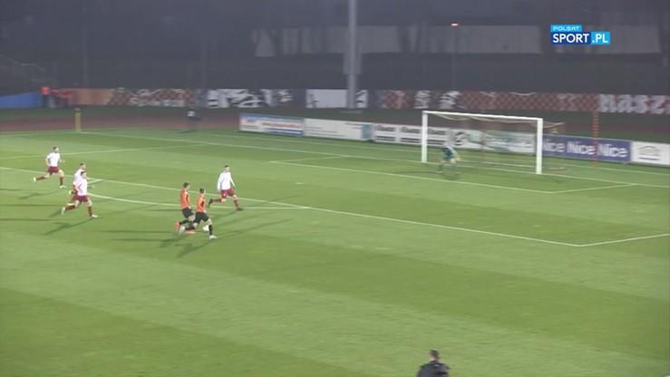 Chrobry Głogów - Drutex-Bytovia 0:0. Skrót meczu