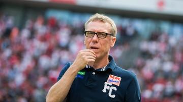 2015-11-29 Trener 1.FC Köln na derbach Krakowa