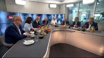 """04-09-2016 10:16 Pierwsze wspólne """"Śniadanie"""" Radia Zet i Polsat News. Gorąca dyskusja m.in. o ustawie reprywatyzacyjnej"""