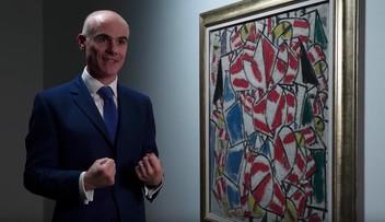 """15-11-2017 17:21 70 mln dolarów za obraz """"Kontrast form"""" na rekordowej aukcji Christie's"""