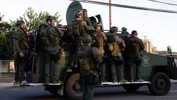 03-12-2015 08:41 Policja zastrzeliła dwoje podejrzanych o dokonanie masakry w San Bernardino
