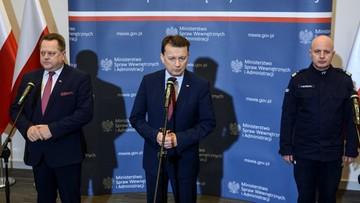 """11-02-2017 18:06 Błaszczak o wypadku premier i """"sprzątaniu w BOR po gen. Janickim"""""""