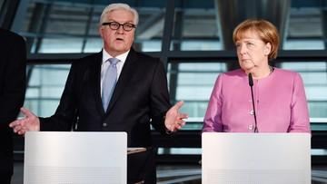 16-11-2016 13:45 Merkel przedstawiła Steinmeiera jako kandydata na prezydenta