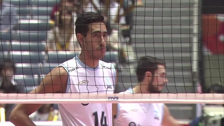 Włochy - Argentyna 3:2. Emocjonujący tie-break