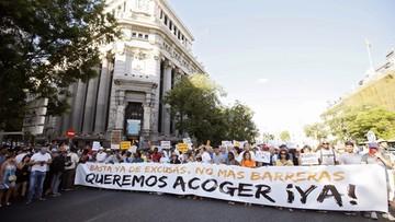 19-06-2017 16:18 Hiszpania także opornie przyjmuje imigrantów. Tyko 2,2 procent ze statusem uchodźcy