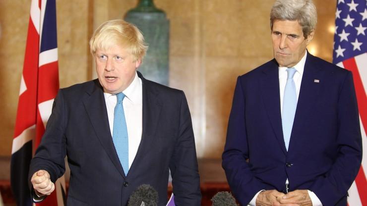 Kerry: USA i Wielka Brytania rozważają sankcje wobec Rosji i Syrii