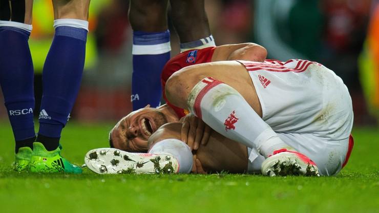 Paskudna kontuzja Ibrahimovica! Szwed długo zwijał się z bólu