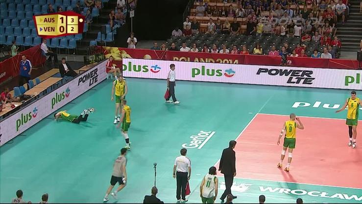 Australia - Wenezuela 3:2. Skrót meczu