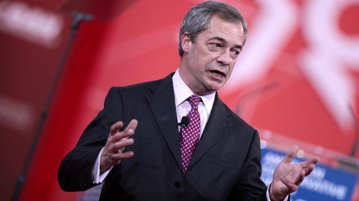 Nigel Farage twierdzi, że chciano go zabić