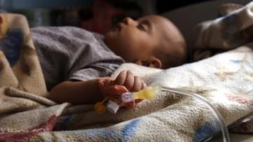 10-07-2017 13:34 Epidemia cholery w Jemenie. Zarażonych jest już ponad 300 tys. ludzi