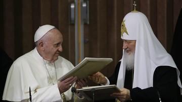 13-02-2016 09:23 Włoska prasa: podróż Franciszka do Moskwy nie jest już niemożliwa