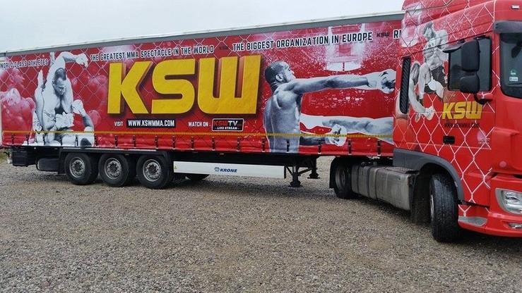 Specjalny tir na galę w Londynie? Pudzianowski Transport i KSW łączą siły!