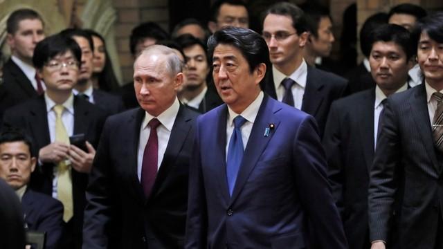 Jednak bez przełomu w sprawie Kuryli po wizycie Putina w Tokio