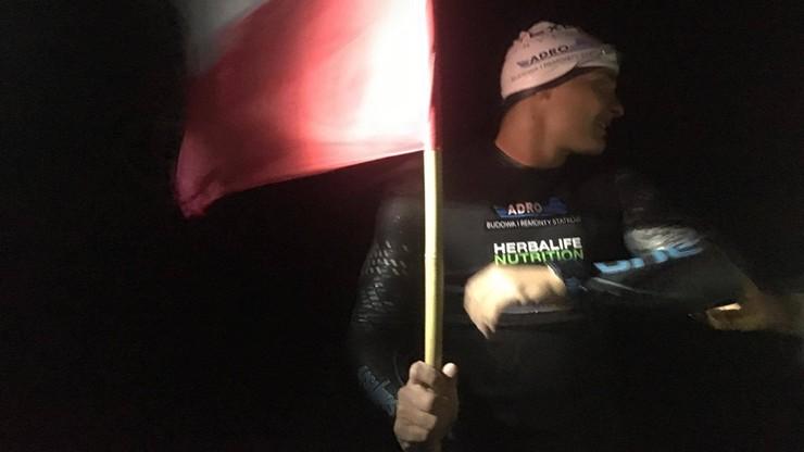 Karaś przepłynął wpław z Kołobrzegu na wyspę Bornholm