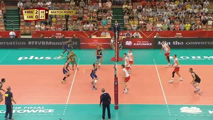 Brazylia - Kanada 3:0. Skrót meczu