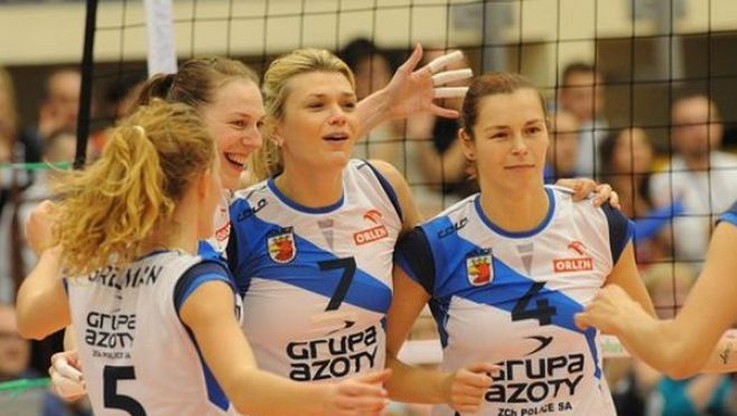Siatkarki Chemika Police o krok od awansu do play off