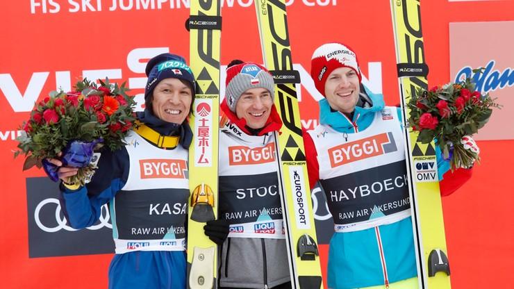Stoch wygrał w Vikersund. Zmniejsza stratę do Krafta