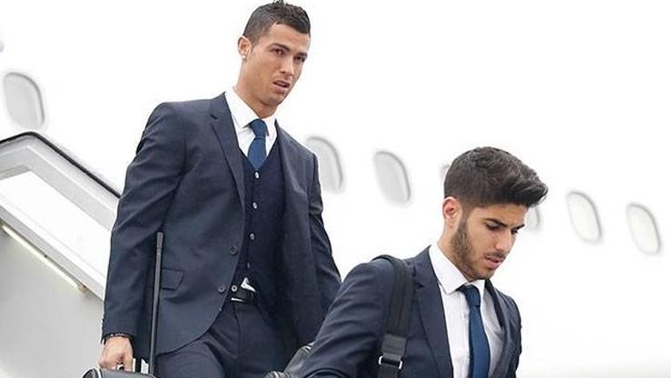 Ronaldo, Benzema, Bale... Real Madryt już w Warszawie