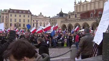 KOD: manifestacje w Krakowie i Opolu.